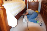 we vacuum or clean under all furniture